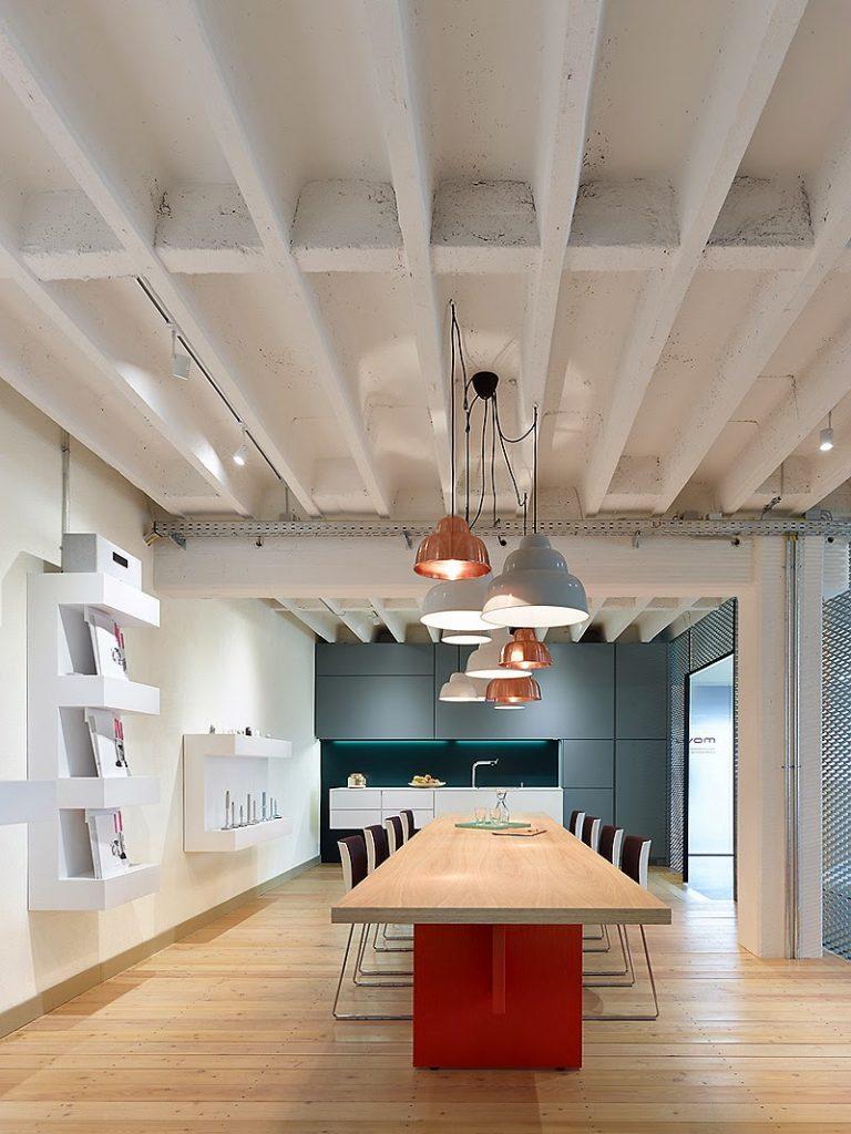 Dise O Industrial Y Contempor Neo En Estas Oficinas De
