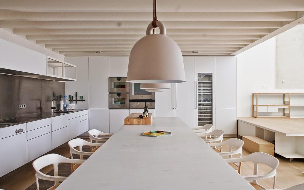 Una antigua f brica de ladrillo transformada en loft - Estudio interiorismo barcelona ...