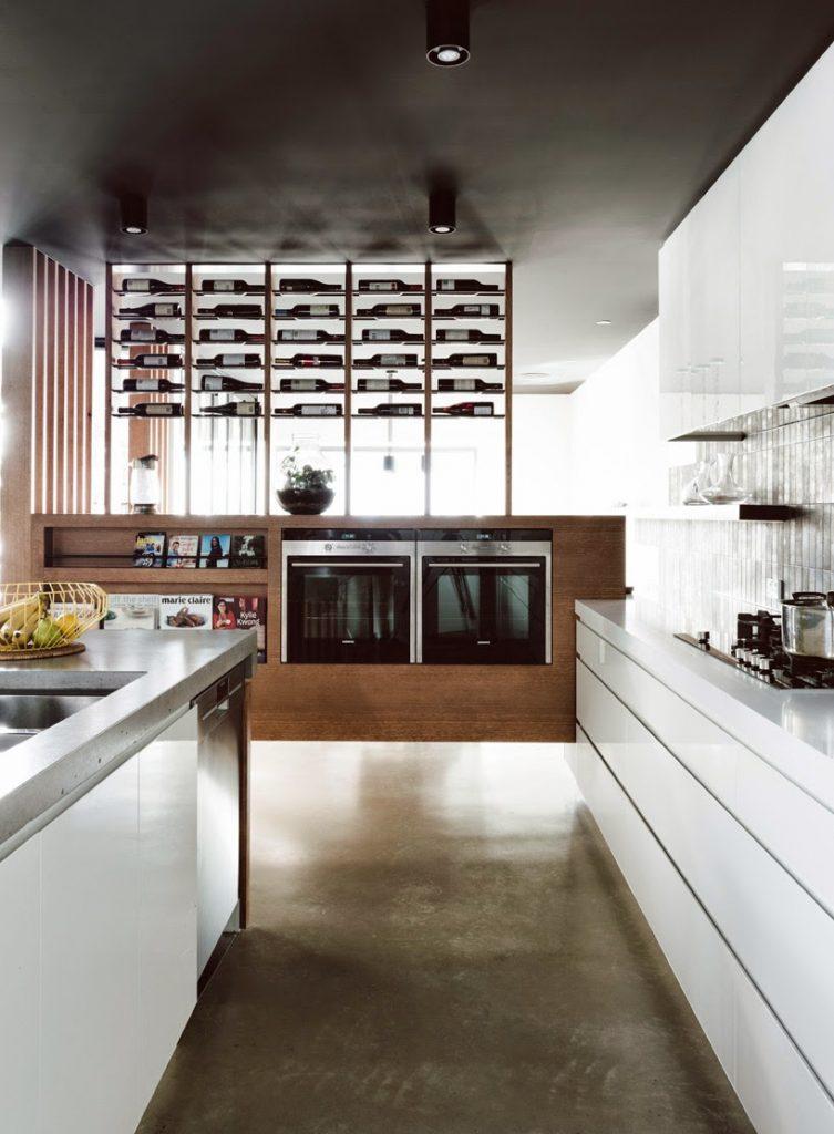 La cocina, estancia principal en el diseño interior de esta vivienda ...