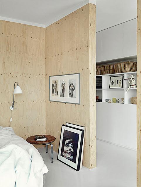 Minimalismo en casa flotante de copenhague ilia estudio ilia estudio - Appartement muur ...