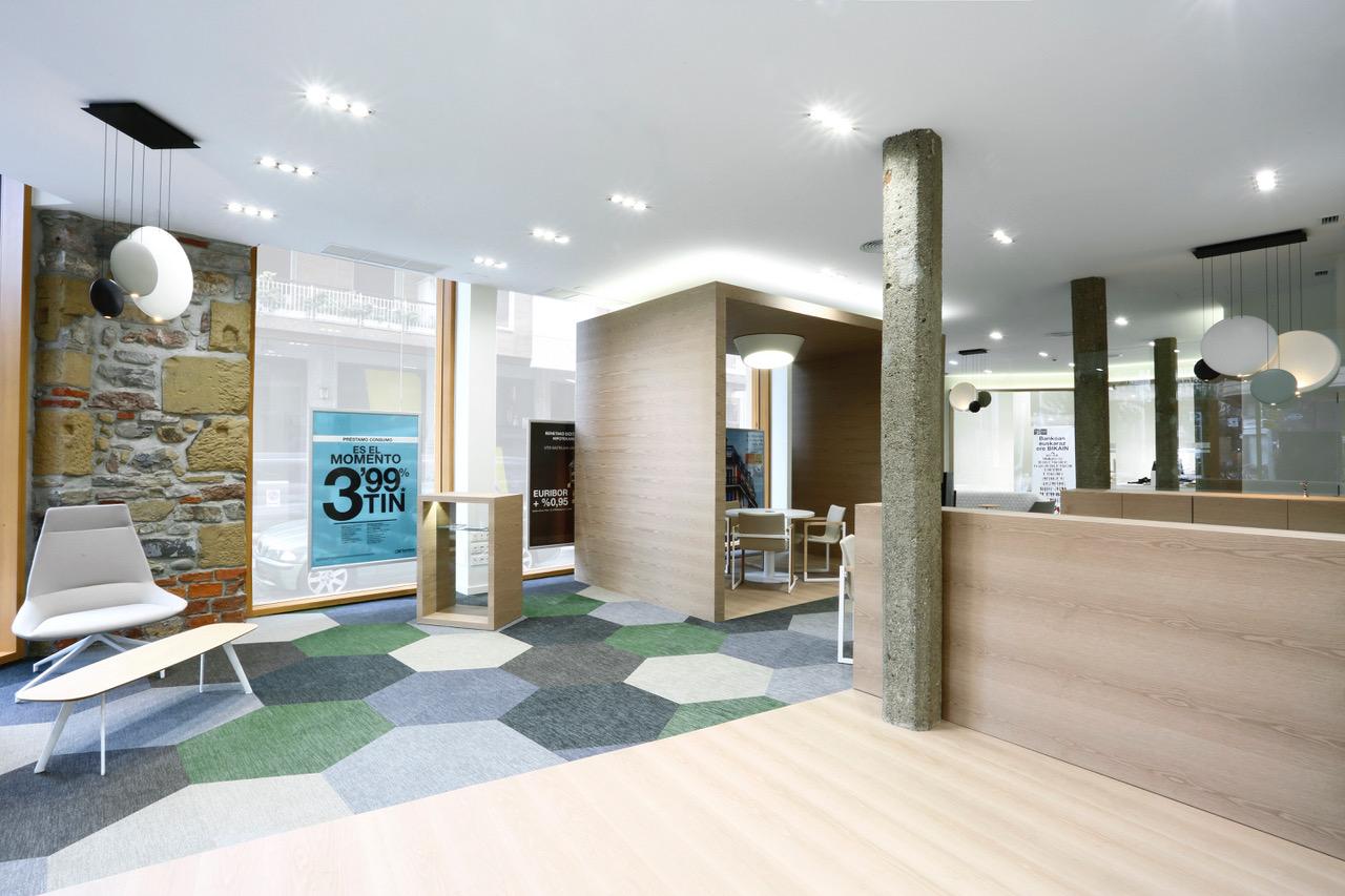 Proyecto y dise o de oficina bancaria bankoa credit for Material de oficina bilbao