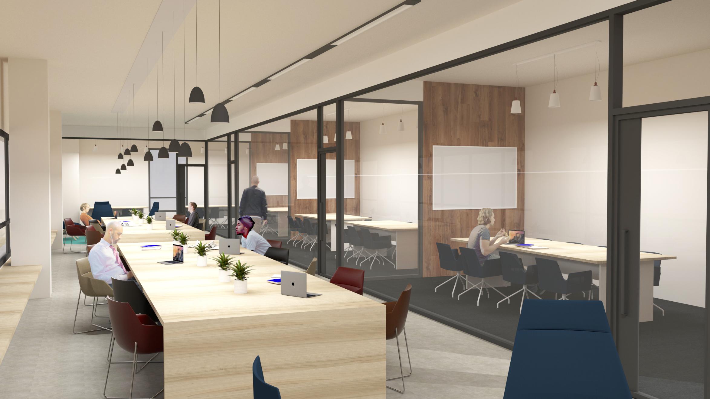 02 proyecto diseño interior oficinas san sebastián _ilia ...